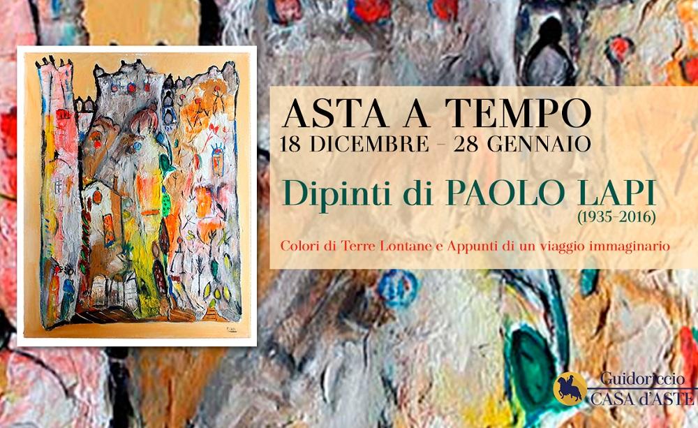 Dipinti di Paolo Lapi